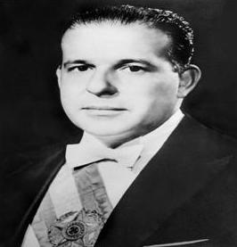 Foto oficial do presidente João Goulart, deposto pelos militares que governou o Brasil durante 1961 até 1964.
