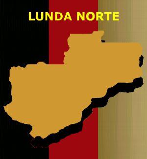 Mapa de Lunda Norte