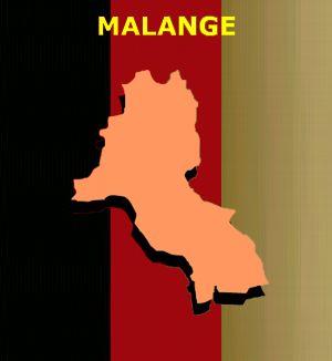 Mapa de Malange