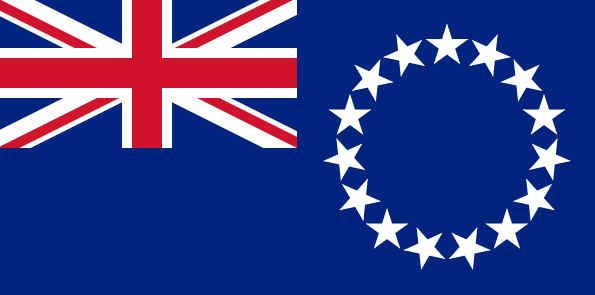 Bandeira das Ilhas Cook