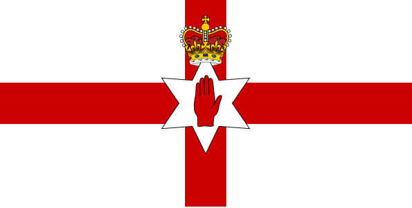 Bandeira da Irlanda do Norte