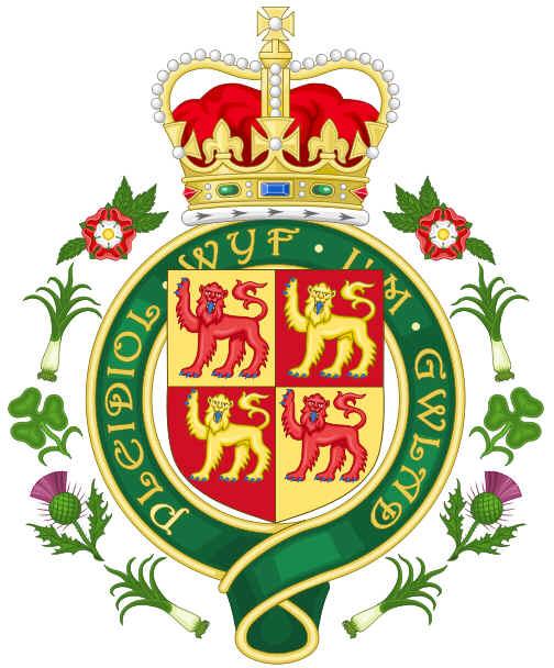 Brasão Real do País de Gales