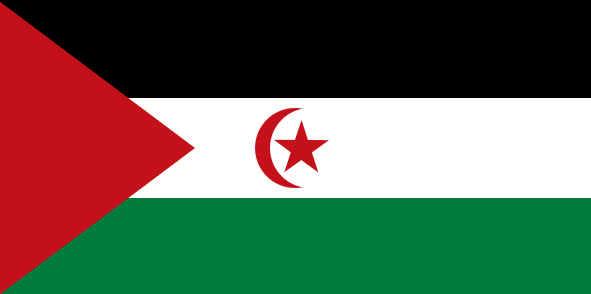 Bandeira do Saara Ocidental
