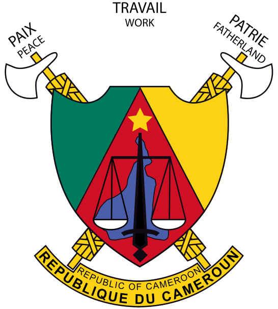 Brasão de armas dos Camarões