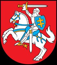Brasão de armas da Lituânia
