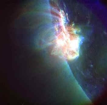 Erupção Solar