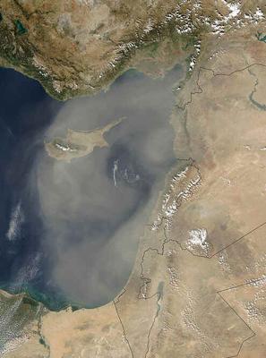 Geografia do Chipre
