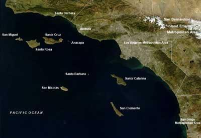 Ilhas Canal da Califórnia