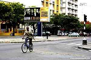 Avenida 24 de Julho, em Maputo