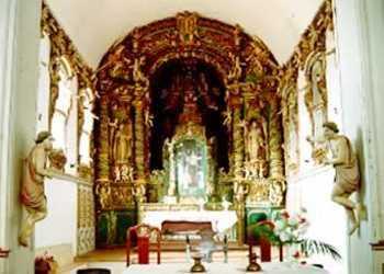 Interior da Igreja - Alc�ntara