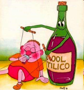 Que aceitar no alcoólico muito a bebida