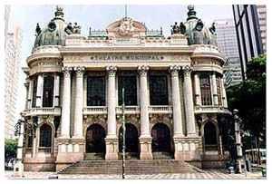 Theatro Municipal do Rio de Janeiro no Rio de Janeiro