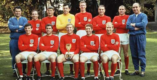 Copas do Mundo -Inglaterra - 1966