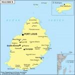 Mapa da Maurícia