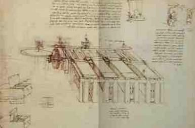 Estudos Técnicos e Mecânicos - Leonardo da Vinci